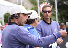 Jose Maria Olazabal at the Seve Trophy 2013 Royalty Free Stock Photography