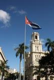 Jose Marti雕象在中央公园, La Habana 库存照片