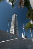 Jose Marti Havanah commemorativo Cuba Fotografie Stock Libere da Diritti