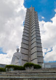 The Jose Marti Memorial at Revolution Square in Ha Royalty Free Stock Images