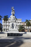 Jose Marti monument in Central Park. Historic center of Havana. Cuba Royalty Free Stock Images