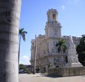 Jose Marti monument, Havana. Parque central in Havana, Jose Marti monument Royalty Free Stock Photo