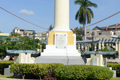 Jose Marti monument on Marte square at Santiago de Cuba Royalty Free Stock Image