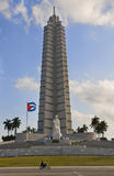 Jose Marti Monument in Plaza de la Revolucion. La Royalty Free Stock Photography