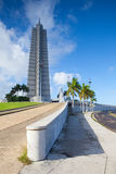 Jose Marti monument on Revolution square.Cuba Royalty Free Stock Photos