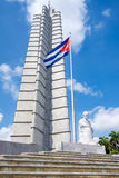 The Jose Marti monument at the Revolution Square in Havana Stock Photo