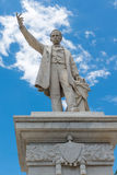 Jose Marti Monument or Statue in Cienfuegos, Cuba Royalty Free Stock Photo
