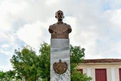 Jose Marti Monument - Vinales, Kuba royaltyfri foto