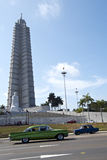Jose Marti Munument at the Plaza, havana, cuba Stock Image