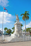 In the Jose Marti Park Stock Images