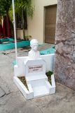 Jose Marti skulptur i Bayamo, Cu royaltyfria bilder