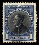Jose Matias Delgado, padre salvadorenho e doutor fotografia de stock