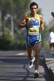 Jose Moreira in Prague marathon Stock Images