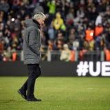 Jose Mourinho, στιγμές παιχνιδιών Στοκ Εικόνα