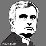 Jose Mourinho ilustração royalty free