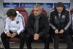 Jose Mourinho στοκ εικόνες