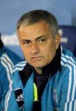 Jose Mourinho av Real Madrid royaltyfria bilder