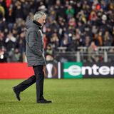Jose Mourinho, moments de jeu Image libre de droits