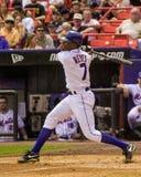 Jose Reyes, New York Mets Foto de archivo libre de regalías