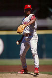 Jose Rijo Cincinnati Reds Royaltyfria Bilder