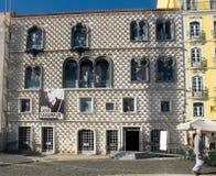 Jose Saramago Foundation en DOS Bicos de la casa en Lisboa, Portugal Fotografía de archivo
