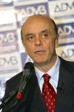 Jose Serra, candidate to president of brazil Royalty Free Stock Photo