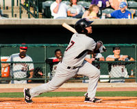Jose Trevino, Hickory Crawdads Royalty Free Stock Images