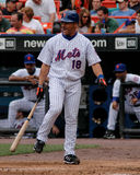 Jose Valentin. New York Mets 2B Jose Valentin #18 Royalty Free Stock Photos