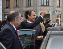José Zapatero Royalty Free Stock Photos