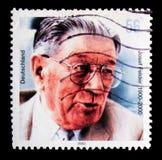 Josef Felder, zweiter Todesjahrestag von Josef Felder-serie, circa 2002 Lizenzfreies Stockfoto