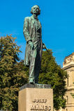 Josef Manes Memorial Statue royaltyfri foto