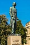 Josef Manes Memorial Statue Royalty Free Stock Photo