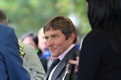 Josef Vana - czech horsing race celebrity Royalty Free Stock Images