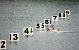 Josefa Idem, Italian champion stock images