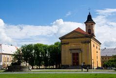 Josefov, Czech republic Stock Photo