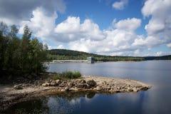 Josefuv Dul Reservoir. A water reservoir near Josefuv Dul, Jizera mountains Stock Photography