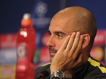 Josep Guardiola Royalty Free Stock Photography