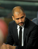 Josep Guardiola of FC Barcelona Stock Photo
