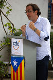 Josep Rull ja Andreu (CiU) Zdjęcie Stock
