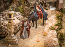 Joseph και Mary στοκ φωτογραφία