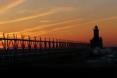 joseph освещает северный st пристани стоковые фотографии rf