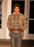 Joseph Abboud Mens Fall 2019 Fashion show as part of New York Fashion Week royalty free stock photo