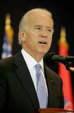 Joseph Biden in Serbien Stockbild