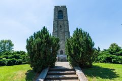 Joseph Carillion Koperkowy Piekarniany Pamiątkowy budynek w Frederick, Mary zdjęcia stock