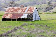 Abandoned barn in the foothills of Diablo Range in Mt Hamilton. Joseph D. Grant County Park, Santa Clara County, California, USA royalty free stock images