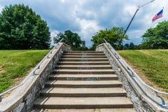 Joseph Dill Baker Memorial Carillon in Historisch Frederick Maryla stock foto