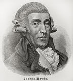 Joseph Haydn Royalty Free Stock Photo