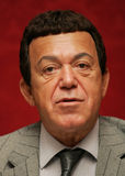 Joseph Kobzon. Popular Russian singer,  politic and businessman, attends a press-conference in Moscow on September 4, 2007 Royalty Free Stock Photos