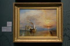 Joseph Mallord William Turner - het National Gallery, Londen Stock Afbeeldingen