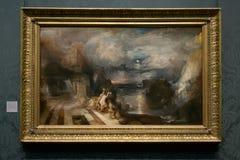 Joseph Mallord William Turner - National Gallery, London Arkivbilder